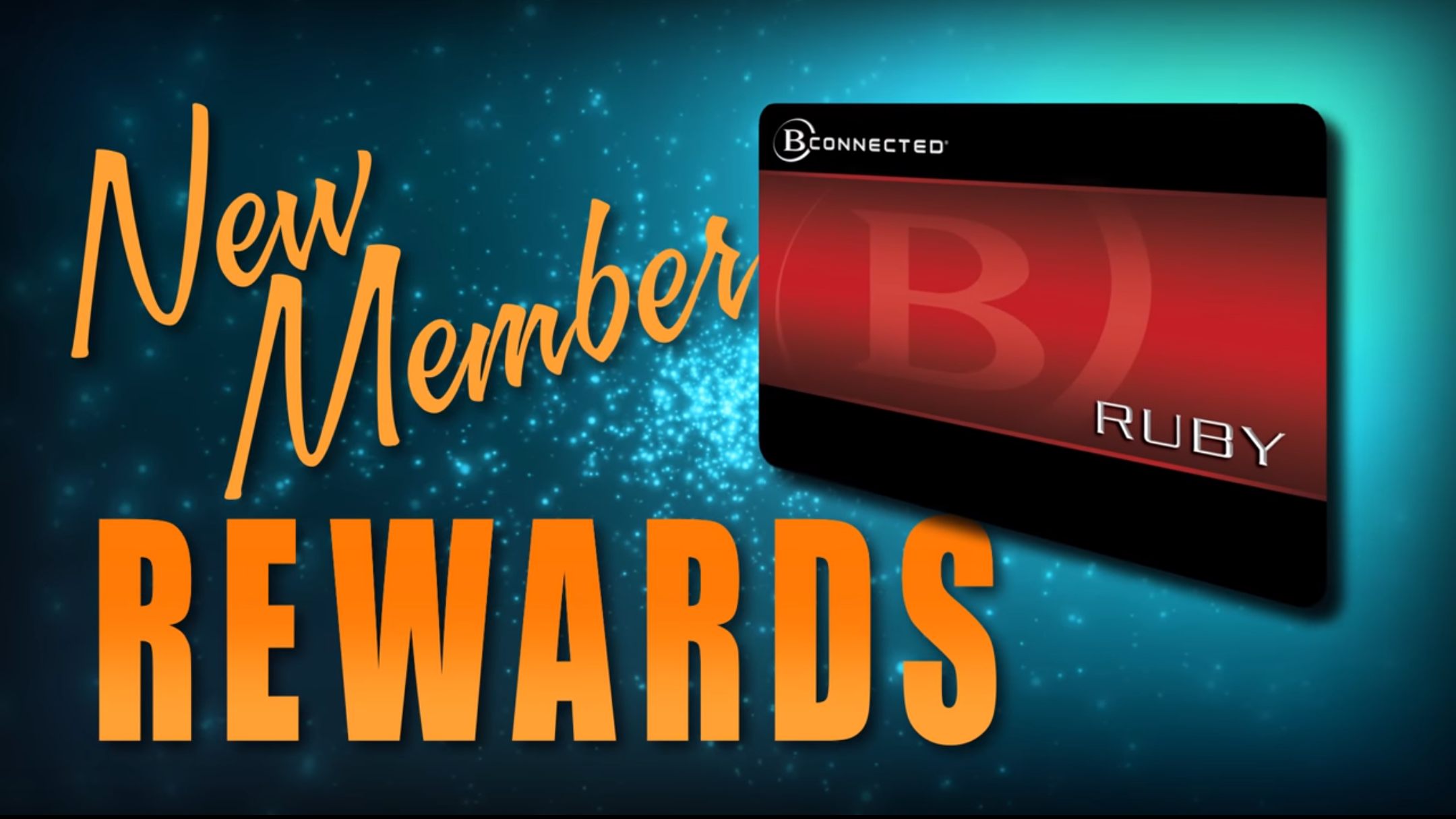 Motion graphics sample. New member special rewards advertisement for May 2016.