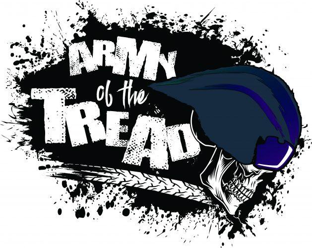 Army Of The Tread Logo Design