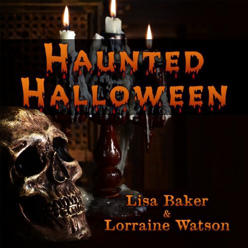 "Lisa & Lorraine ""Haunted Halloween"" Music Single Cover Art Design"