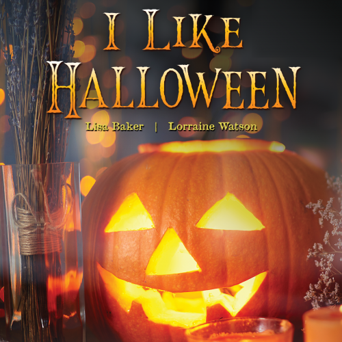 "Lisa & Lorraine ""I Like Halloween"" Music Single Cover Art Design"