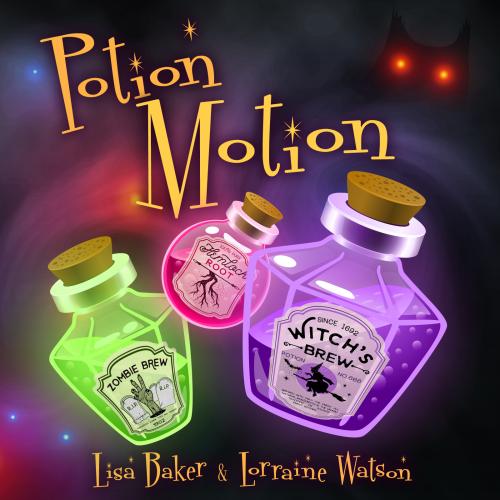 "Lisa & Lorraine ""Potion Motion"" Music Single Cover Art Design"