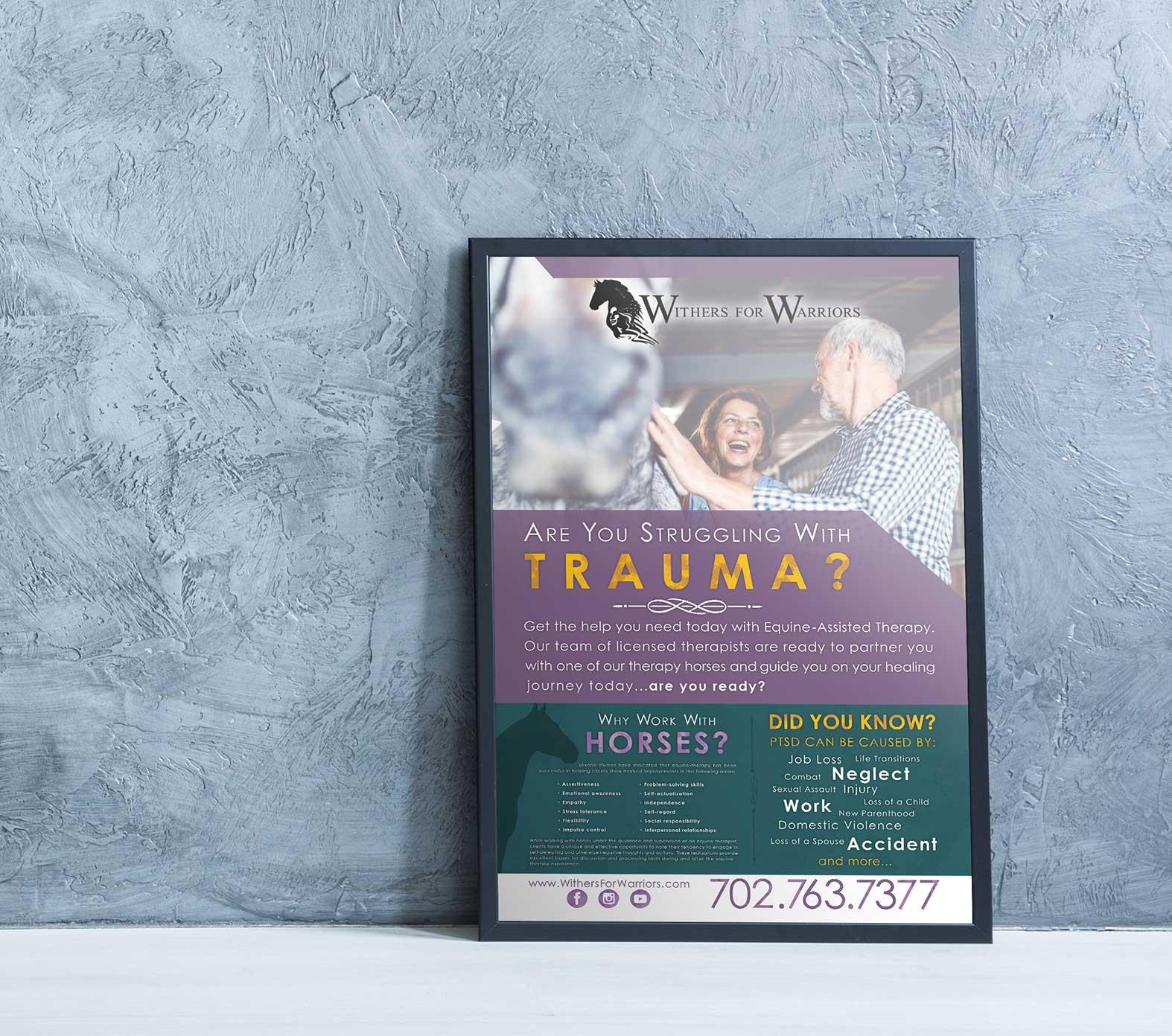 W4W Marketing Info-Poster Design