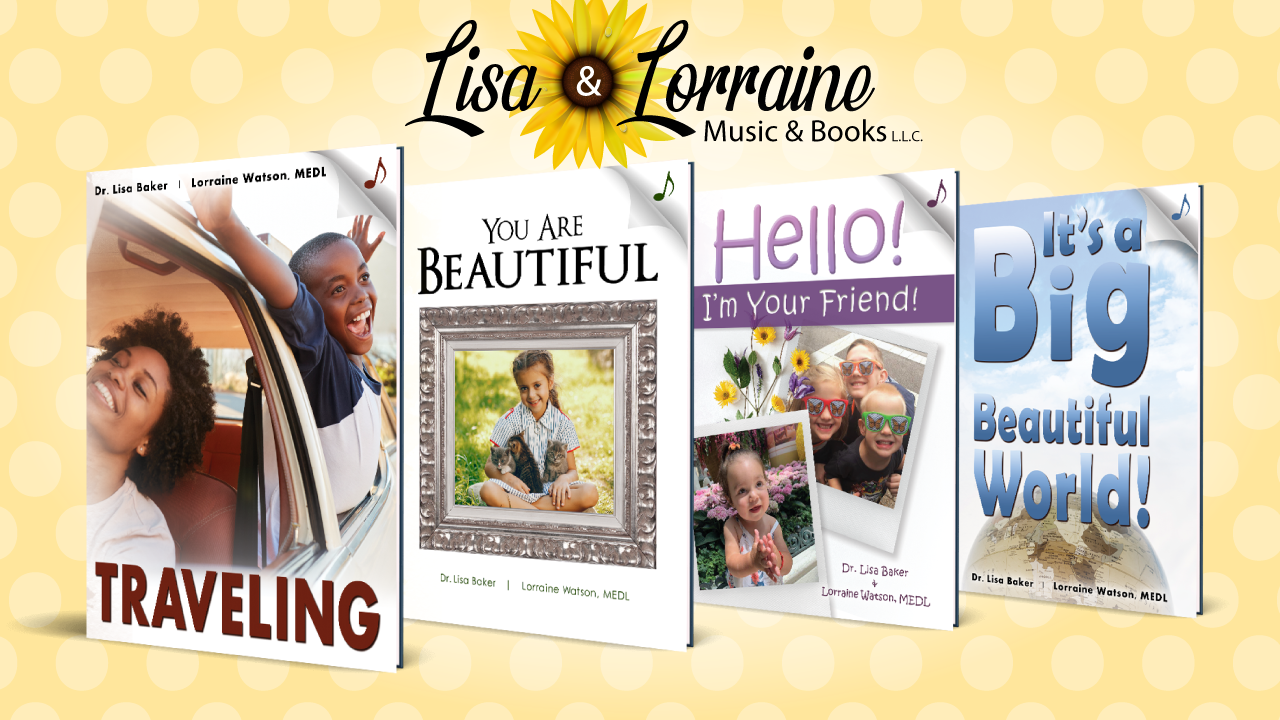 Children's Books – Lisa & Lorraine Music & Books