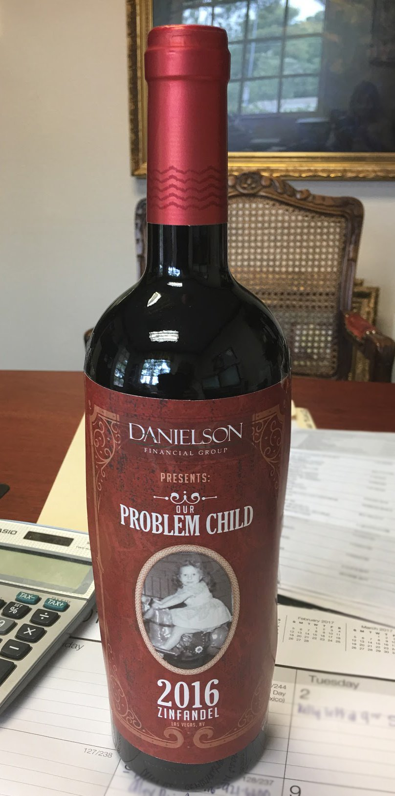 Award-Winning Wine Label Design PROOF