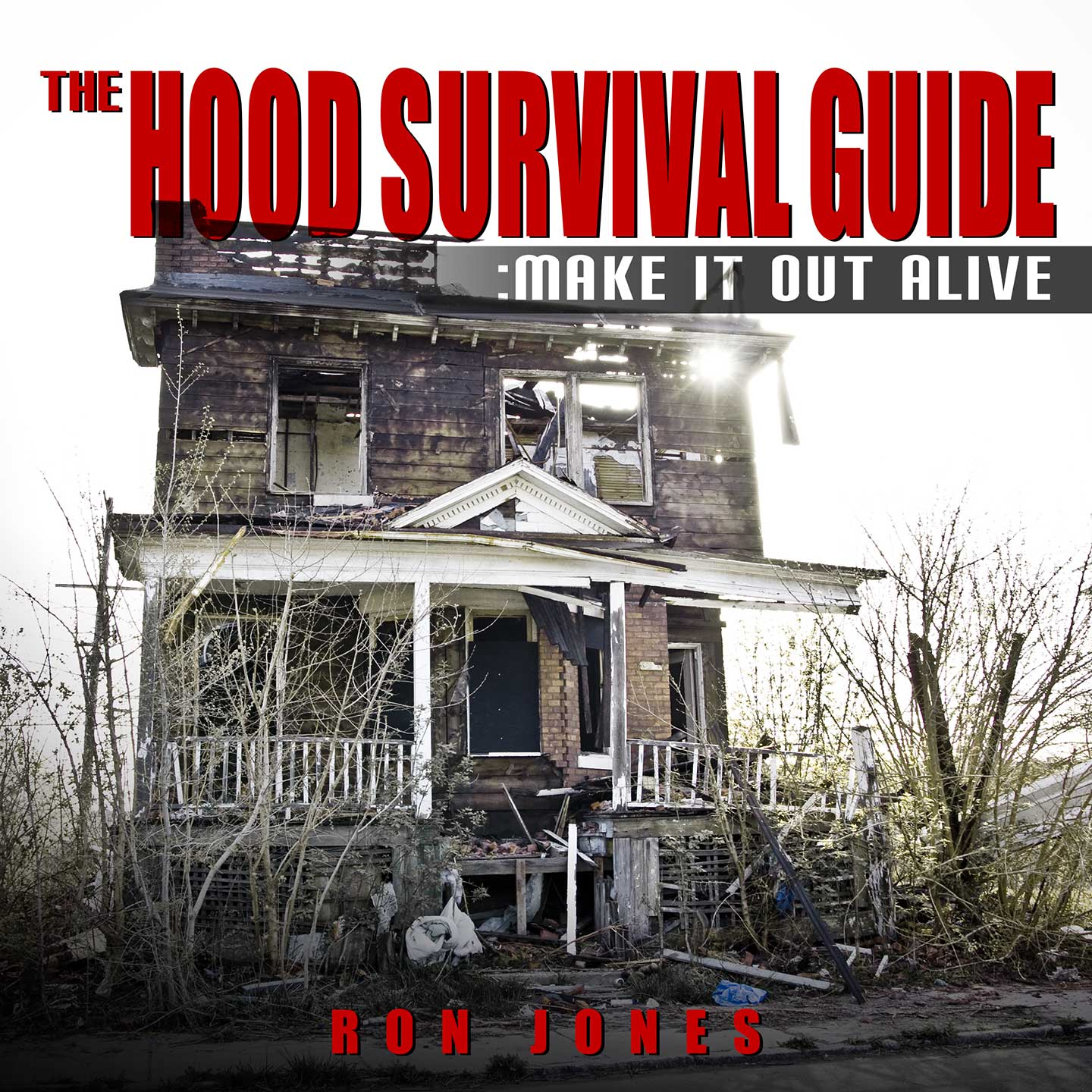 The Hood Survival Guide Audiobook Cover Design