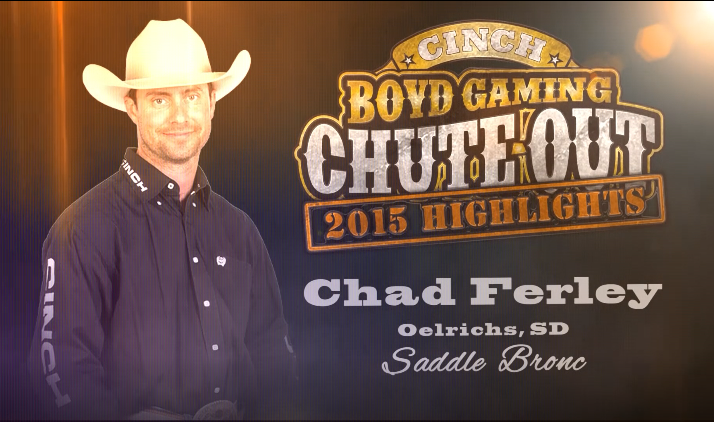 Rodeo Highlight Video: Saddle Bronc