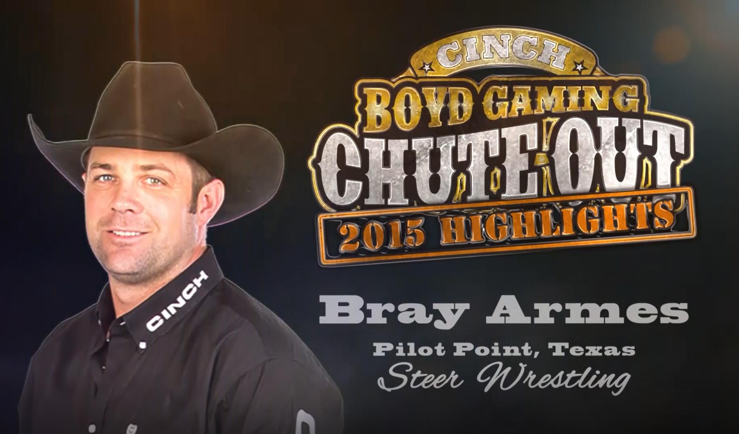 Rodeo Highlight Video: Steer Wrestling