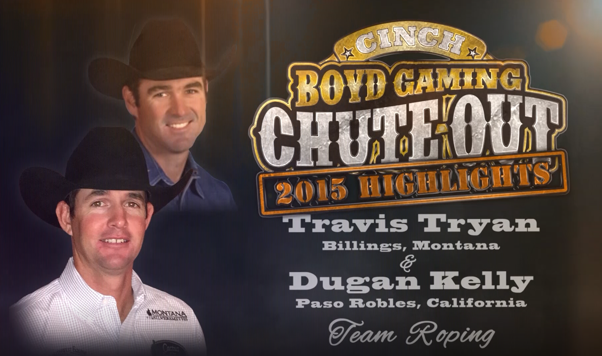 Rodeo Highlight Video: Team Roping