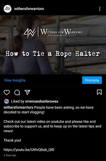 W4WF: Vlog Announcement
